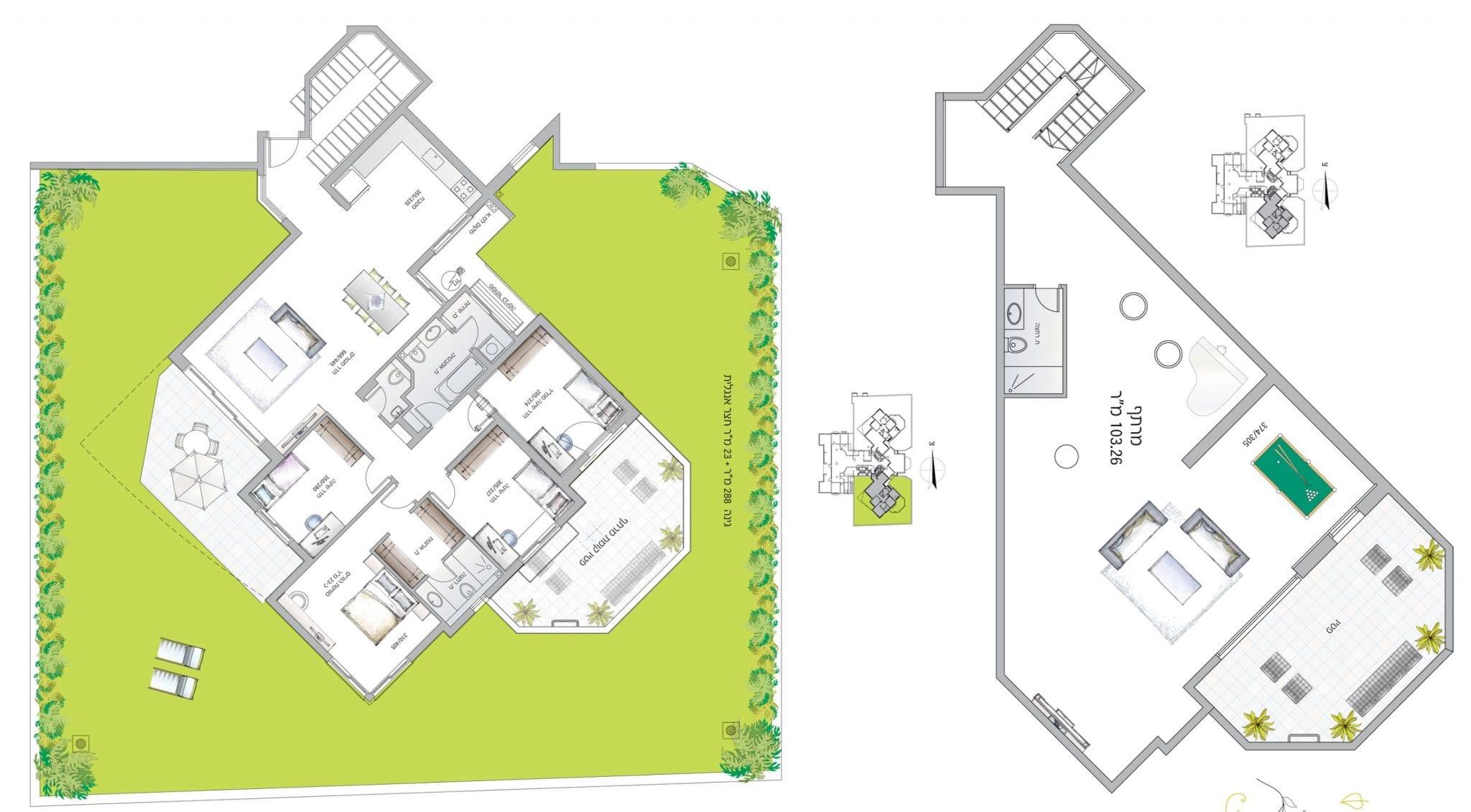 דירת גן 5 עם מרתף